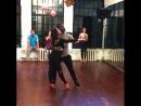 Bachata, Alan Eufor & Natalya Poddubnaya, школа танцев Держи Ритм