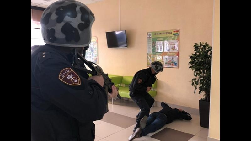 Урок безопасности от Росгвардии Кузбасса (СТС Кузбасс)