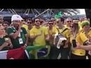 Brasileiros na Rússia cantam Girafales Tchau Chaves Tchau Tchau Tchau