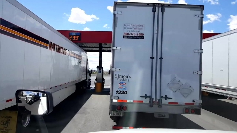 Bigrigtravels Live! Boardman to Pendleton, Oregon Interstate 84 Eastbound July 11, 2016
