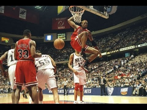 1998 New Jersey Nets vs Chicago Bulls Game 3