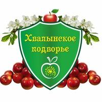 Логотип Хвалынское подворье. Славянская одежда.