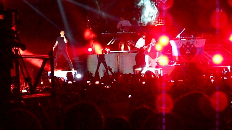 Linkin Park Live in Moscow 02/06/2014 Papercut