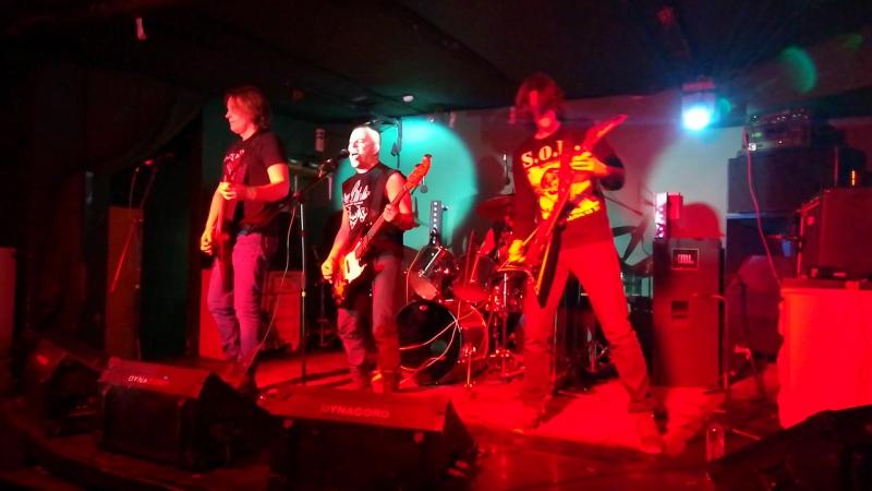 Blacklist - Born To Raise Hell (Motorhead Cover) (2017) (Live) (Клуб ЛесМосква) 30.12.2017 Исполнение №2