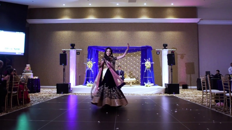 Bride's Reception Dance | Anjali and Shiv's Wedding