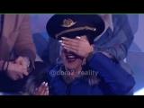 Реакция Ольги Бузовой на голых мужчин (15.04.18)