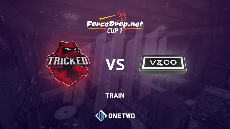 Tricked vs Valiance (de_train) | ForceDrop.net Cup 1