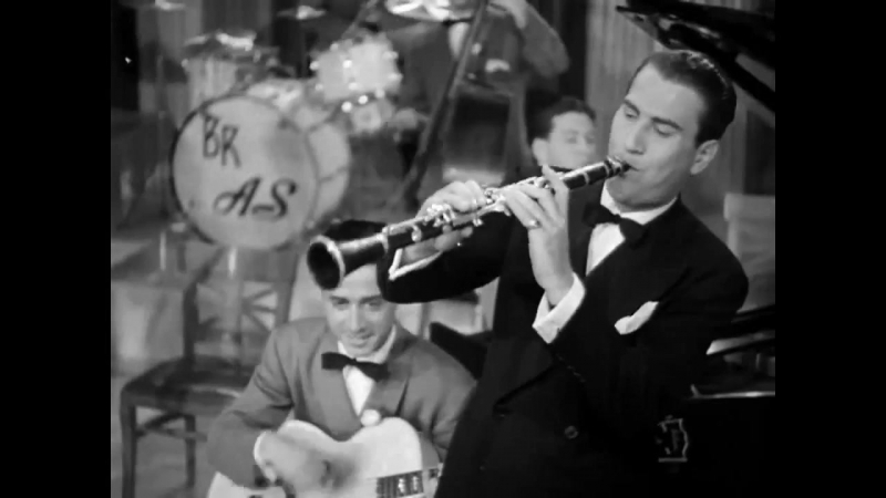 Film Clip_ Traffic Jam - Artie Shaw his Orch., 1939 - M-G-M (original stereo recording for film)