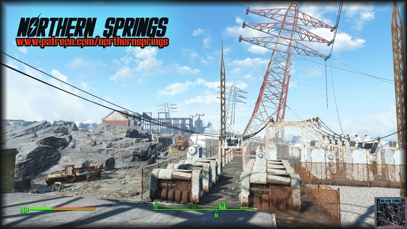 Fallout 4: Northern Springs Worldspace DLC (Combat Preview 2)