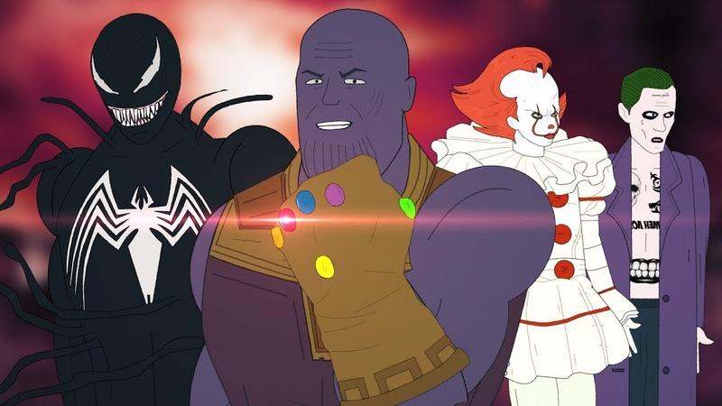 Танос набирает команду / Война Бесконечности