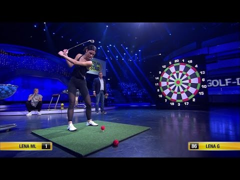 Spiel 13 - Golf-Darts - Schlag den Star