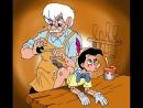 Гей Пиноккио, просит папу Карло выпилить ему дырку в жопе, вместо хуя. Гей тема. Юмор. Прикол.