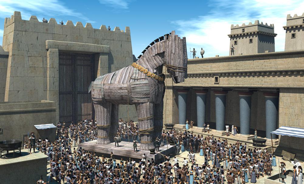 Легендарный город Троя