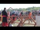 Фестиваль Щит Сибири в Омске женский бой на мечах
