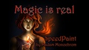 Magic is real SpeedPaint by Madam Monochrom