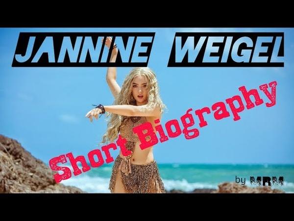 Jannine Weigel Biography A German Thai Singer Cum Actress