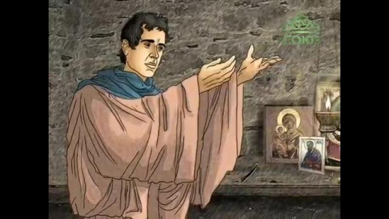 Преподобный Тимофей Олимпийский (в Символех), пустынник (Мульткалендарь)