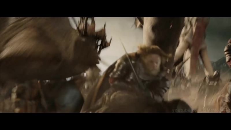 Армия Рохана против Харадрим на Мумаках Осада Минас Тирита Властелин колец Возвращение короля