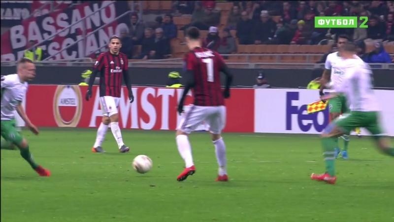 Лига Европы 2017-18 | UEFA Europa League | 116 Финала | Ответный матч | Милан (Италия) - Лудогорец (Болгария) | 2 тайм