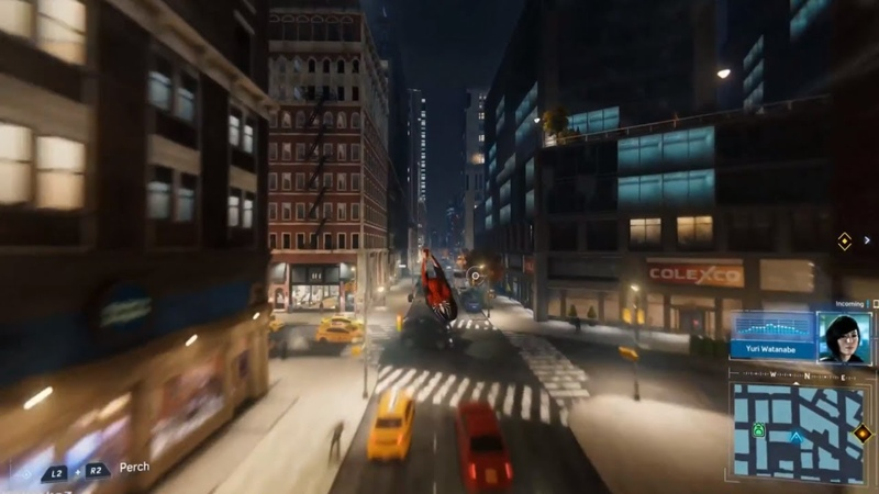 Spider-Man PS4 - New Day and Night Time Web Swinging Mid Air Tricks Gameplay