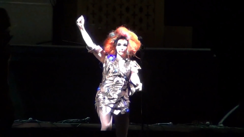 Björk - Army of Me - live at Lollapalooza, Chile, 2012 (aud.rec.) - Bjork