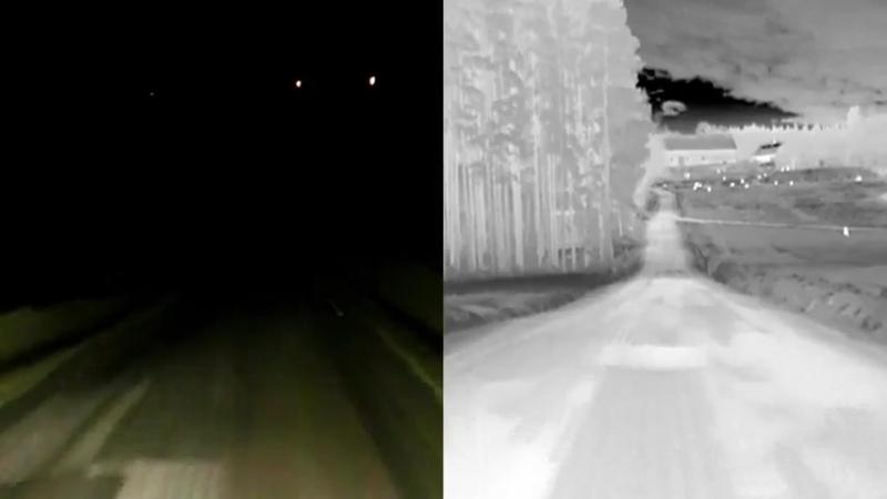 Ночное видение от BMW