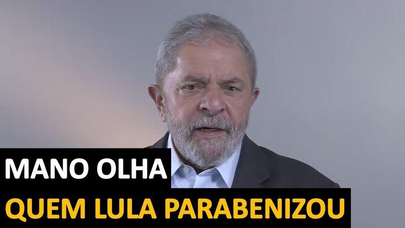 Lula grava vídeo parabenizando ninguém menos que o Companheiro Maduro