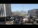 Последствия пожара на АЗС в Новороссийске