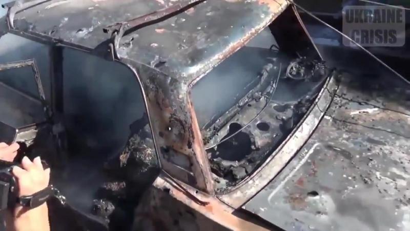 Правда изнутри ( бомбёжка мирного населения Донбасса киевской жидохунтой )