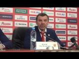 Олег Знарок: «Я не понял, Вы сегодня что ли хоккей не смотрели»?