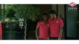 """FC Spartak Moscow on Instagram: """"🔴⚪️ Друзья, хотите узнать как наши парни собирались на совместную фотографию? 🤫 Тогда смотрите 🎥👆🏻 — #day14 #красн..."""