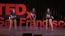 Интересный танец девушек / ХИП ХОП танцующие балерины