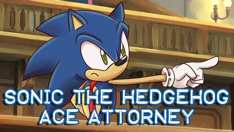 Sonic the Hedgehog Ace Attorney The Sonic Boom Turnabout
