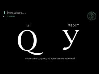 Типографика // Учебник по типографике. Раздел 1. Урок 1. Графема буквы [Каллиграфия и Леттеринг]
