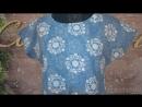 Платье Модель П 682 4 голубое (48-62) 910р. [СОНЛАЙН_Интернет-магазин]