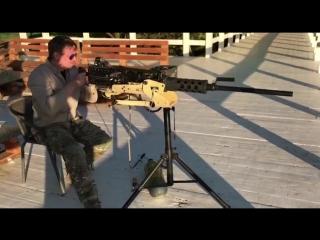 Airsoft модель пулемета M2 Browning 50 Cal на ВВД