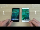 Xiaomi Mi A1 vs Meizu M6 Note - КАКОЙ БЫСТРЕЙ Speed Test
