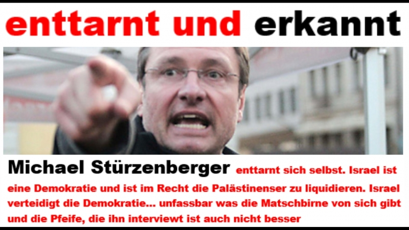 Michael Stürzenberger enttarnt sich selbst