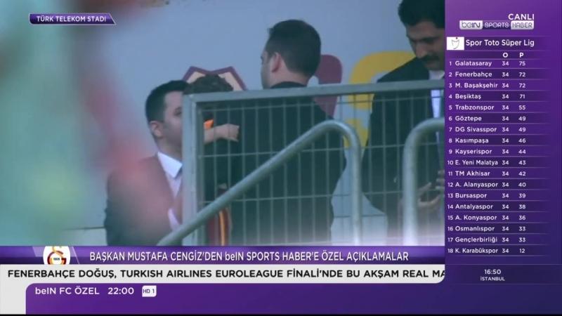 Başkan Mustafa Cengiz Beinsport Özel Açıklamalar 33