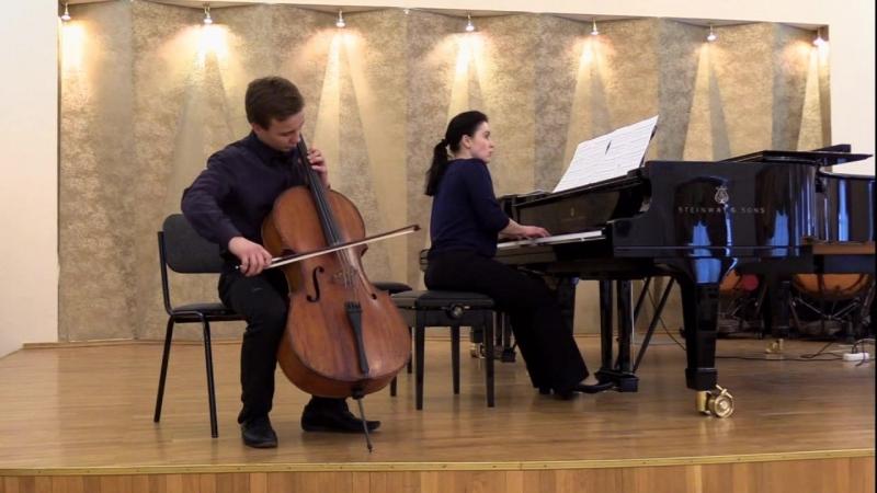 Schubert the bee cello Davydov Kirill