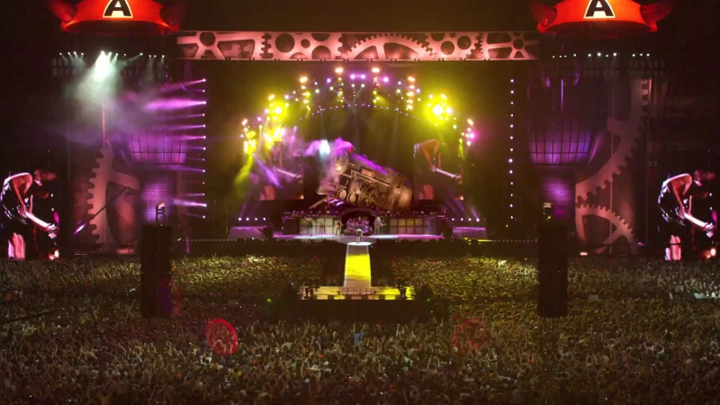 ACDC - Thunderstruck album The Razors Edge 1990 (Live At River Plate 2009)