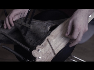 Psychedelic percussion electro-harp