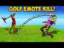 *FIRST EVER* GOLF KILL IN SEASON 5 Fortnite Funny Fails and WTF Moments 255 Daily Moments