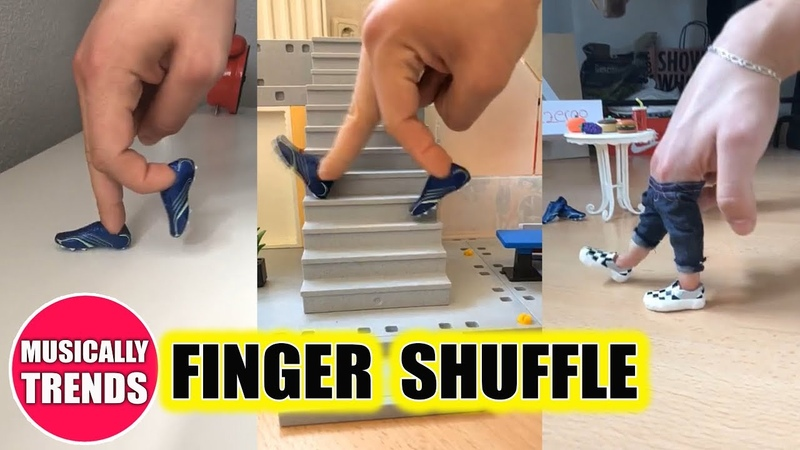 FINGER SHUFFLE dance Musical.ly Compilation fingershuffle