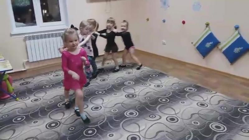 Веселая игра Паровозик. Группа Кузнечики