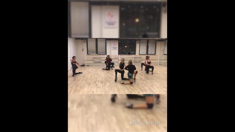 Лариса Минина танцы стрип пластика