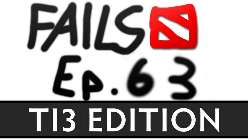 Dota 2 Fails of the Week - Ep. 63 (TI3 Edition)