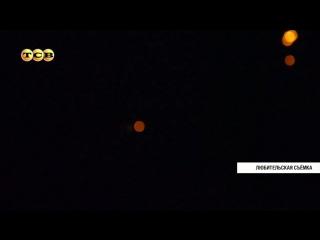 Неопознанный летающий объект в небе над Приднестровьем