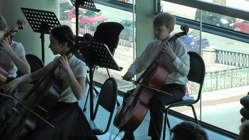 А. Вивальди. La Follia для 2-х скрипок и басса континуо, ор.1 №12