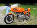 Мотоцикл LAVERDA SFC 005, 1974 года
